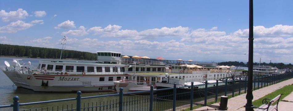 Danube river, Vidin, Bulgaria