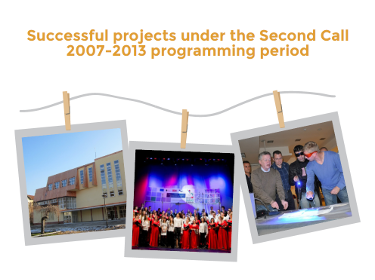 Successful projects under the Second Call 2007-13